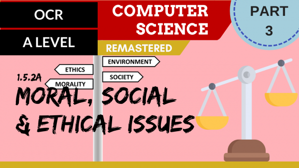 OCR A'LEVEL SLR17 Moral, social & ethical issues Part 3