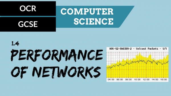 OCR GCSE SLR1.4 Factors that affect the performance of networks