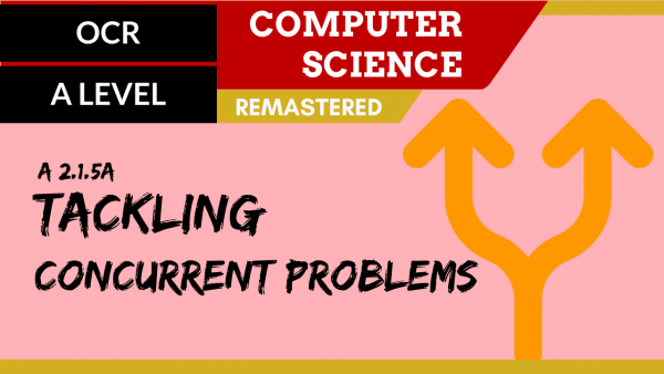 OCR A'LEVEL SLR22 Parts of problem tackled at the same time