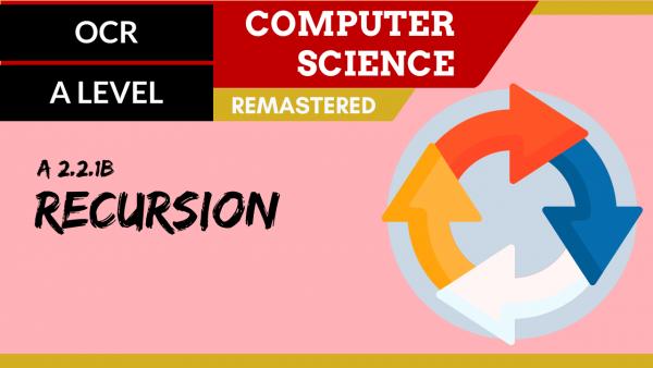 OCR A'LEVEL SLR23 Recursion