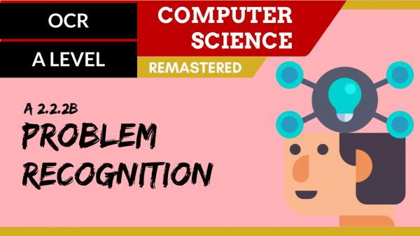 OCR A'LEVEL SLR24 Problem recognition