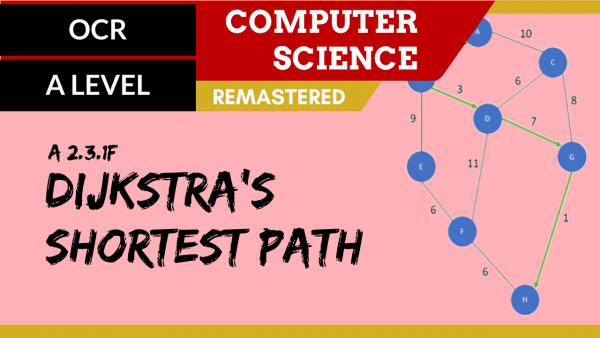 OCR A'LEVEL SLR26 Dijkstra's shortest path