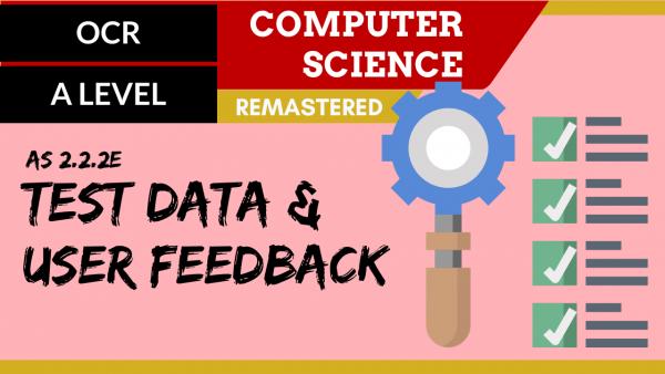 OCR A'LEVEL SLR06 Test Data & User Feedback