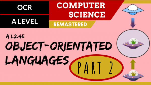 OCR A'LEVEL SLR07 OO languages part 2