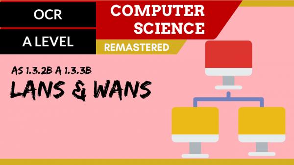 OCR A'LEVEL SLR11 LANs & WANs