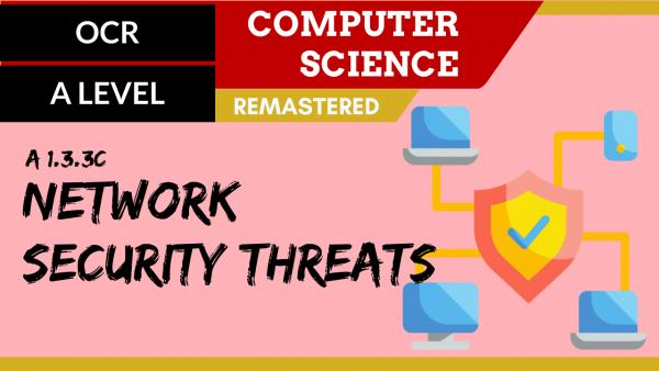OCR A'LEVEL SLR11 Network security threats
