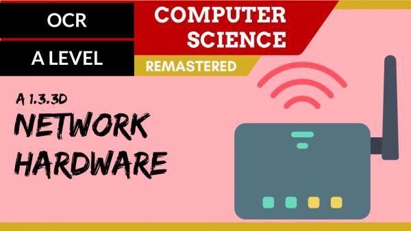 OCR A'LEVEL SLR11 Network hardware