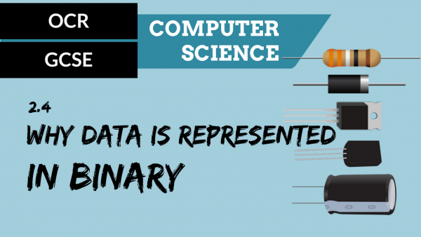 OCR GCSE SLR2.4 Why data is represented in binary