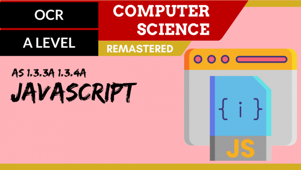 OCR A'LEVEL SLR12 JavaScript