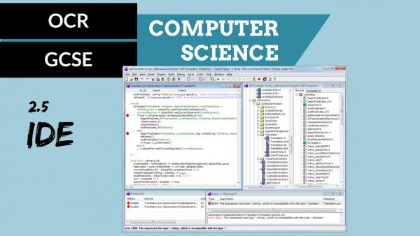 OCR GCSE SLR2.5 IDEs