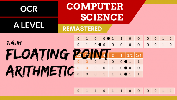 OCR A'LEVEL SLR13 Floating point arithmetic