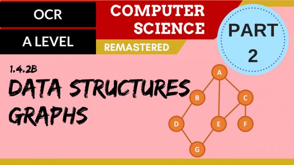 OCR A'LEVEL SLR14 Data Structures Part 2 Graphs