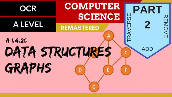 OCR A'LEVEL SLR14 Data Structures C,T,A,R Part 2 Graphs