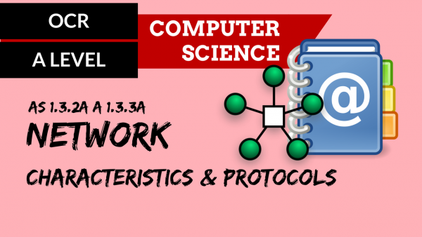 OCR A'LEVEL SLR11 Network characteristics & protocols