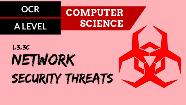 OCR A'LEVEL SLR11 Network security threats
