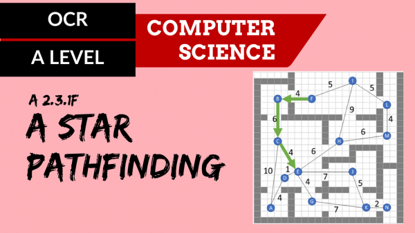 OCR A'LEVEL SLR26 A* pathfinding