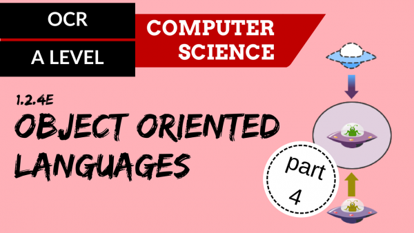 OCR A'LEVEL SLR07 OO languages part 4