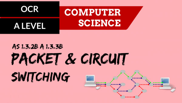 OCR A'LEVEL SLR11 Packet & circuit switching