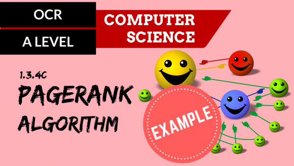 OCR A'LEVEL SLR12 PageRank algorithm example