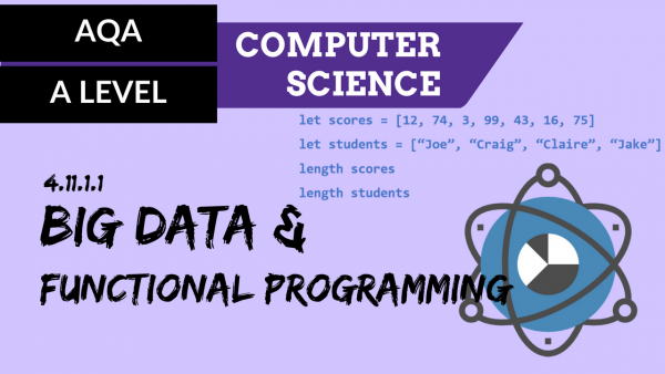 AQA A'Level SLR24 Big Data and functional programming