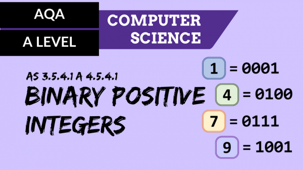 AQA A'Level SLR11 Binary positive integers