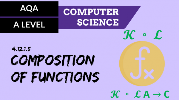 AQA A'Level SLR25 Composition of functions