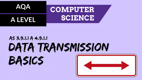 AQA A'Level SLR20 Data transmission basics