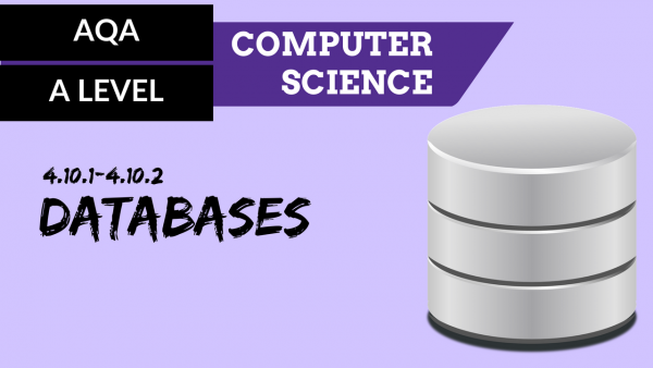 AQA A'Level SLR23 Databases