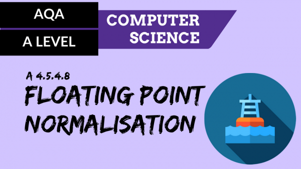 AQA A'Level SLR11 Floating point normalisation