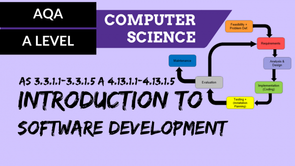 AQA A'Level SLR27 Introduction to software development