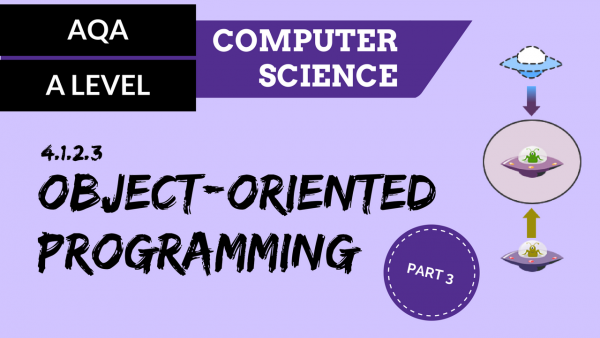 AQA A'Level SLR03 Object-oriented programming – part 3