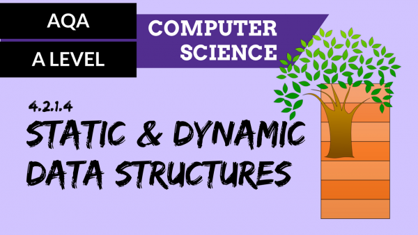 AQA A'Level SLR04 Static & dynamic data structures