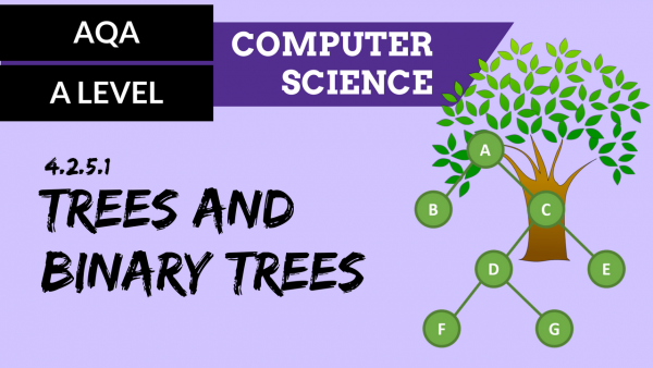 AQA A'Level SLR04 Trees & Binary trees