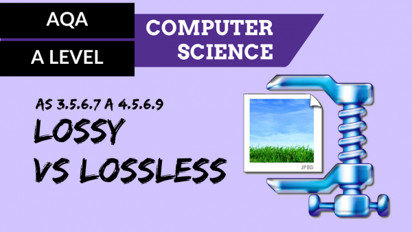 AQA A'Level SLR13 Lossy vs lossless