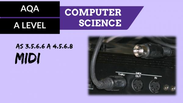 AQA A'Level SLR13 MIDI