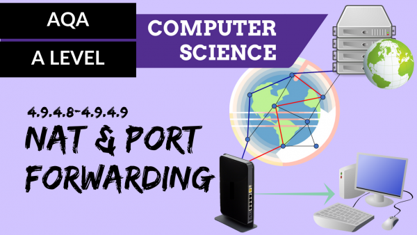 AQA A'Level SLR22 NAT and port forwarding