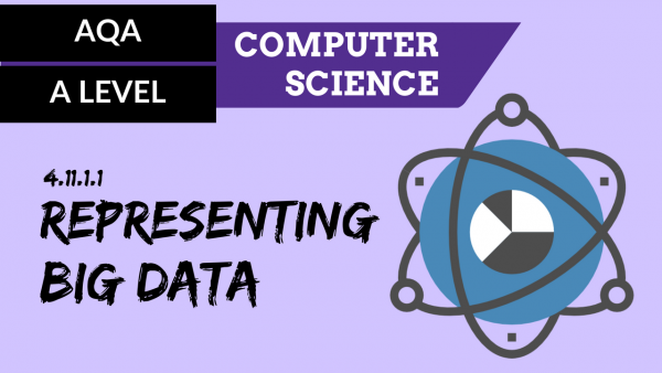 AQA A'Level SLR24 Representing Big Data