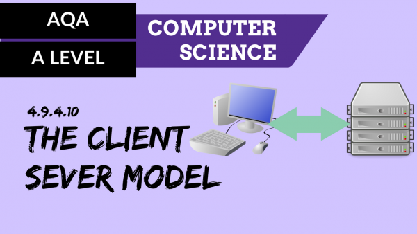 AQA A'Level SLR22 The client server model