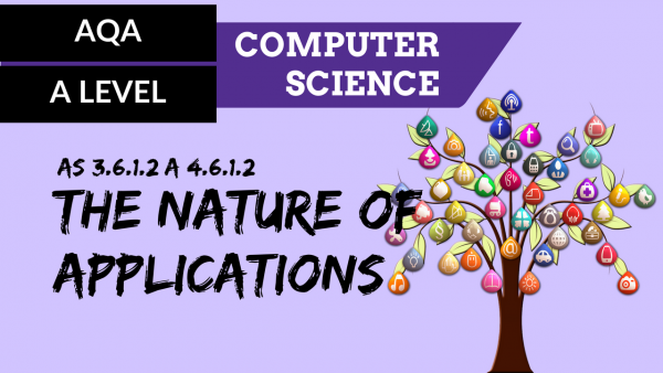AQA A'Level SLR14 The nature of applications