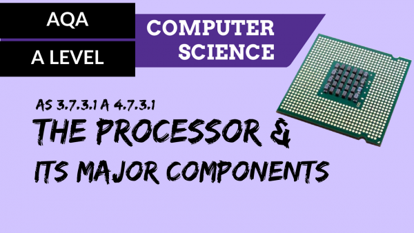 AQA A'Level SLR17 The processor and its major components