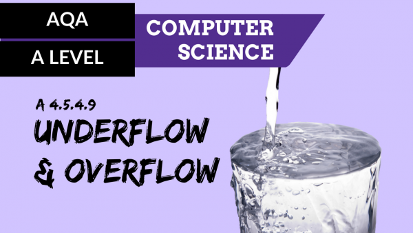AQA A'Level SLR11 Underflow and overflow