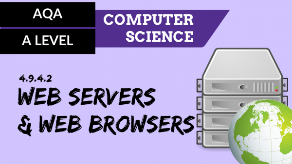 AQA A'Level SLR22 Web servers and web browsers