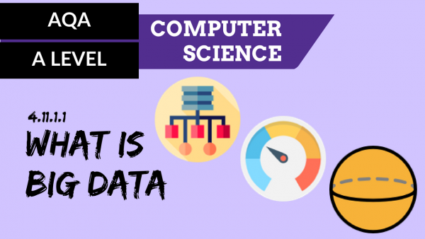 AQA A'Level SLR24 What is Big Data