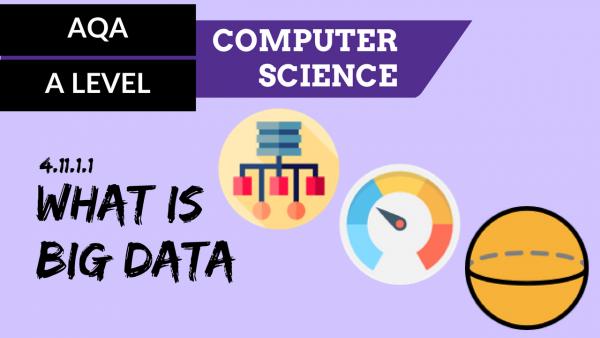 AQA A'Level SLR24 What is Big Data