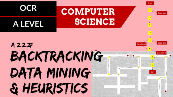 OCR A'LEVEL SLR24 Backtracking, Data mining & Heuristics