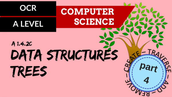 OCR A'LEVEL SLR14 Data Structures C,T,A,R Part 4 Trees