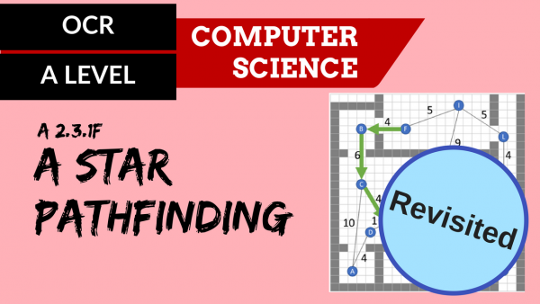 OCR A'LEVEL SLR26 A* pathfinding revisited