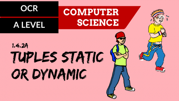 OCR A'LEVEL SLR14 Tuples static or dynamic