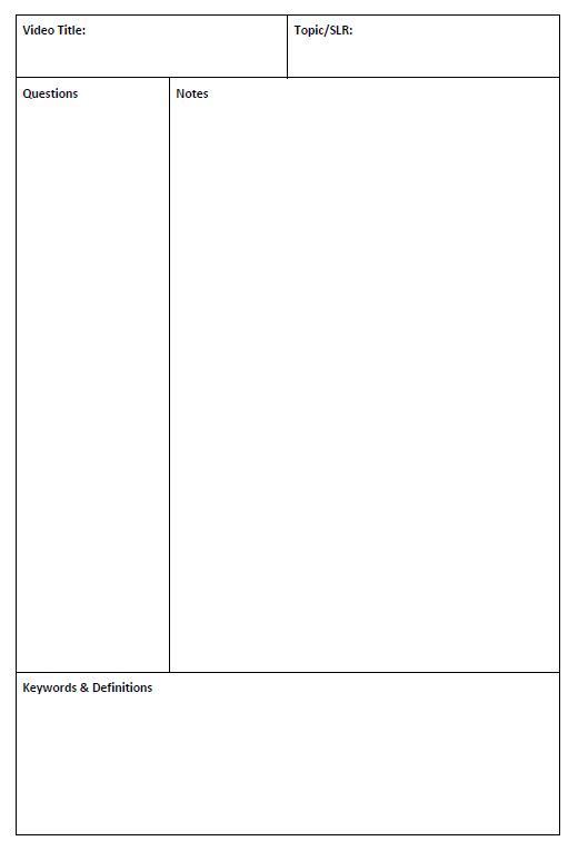 Cornell template