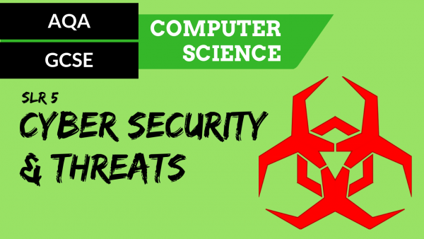 AQA GCSE SLR5 Cyber Security and cyber security threats